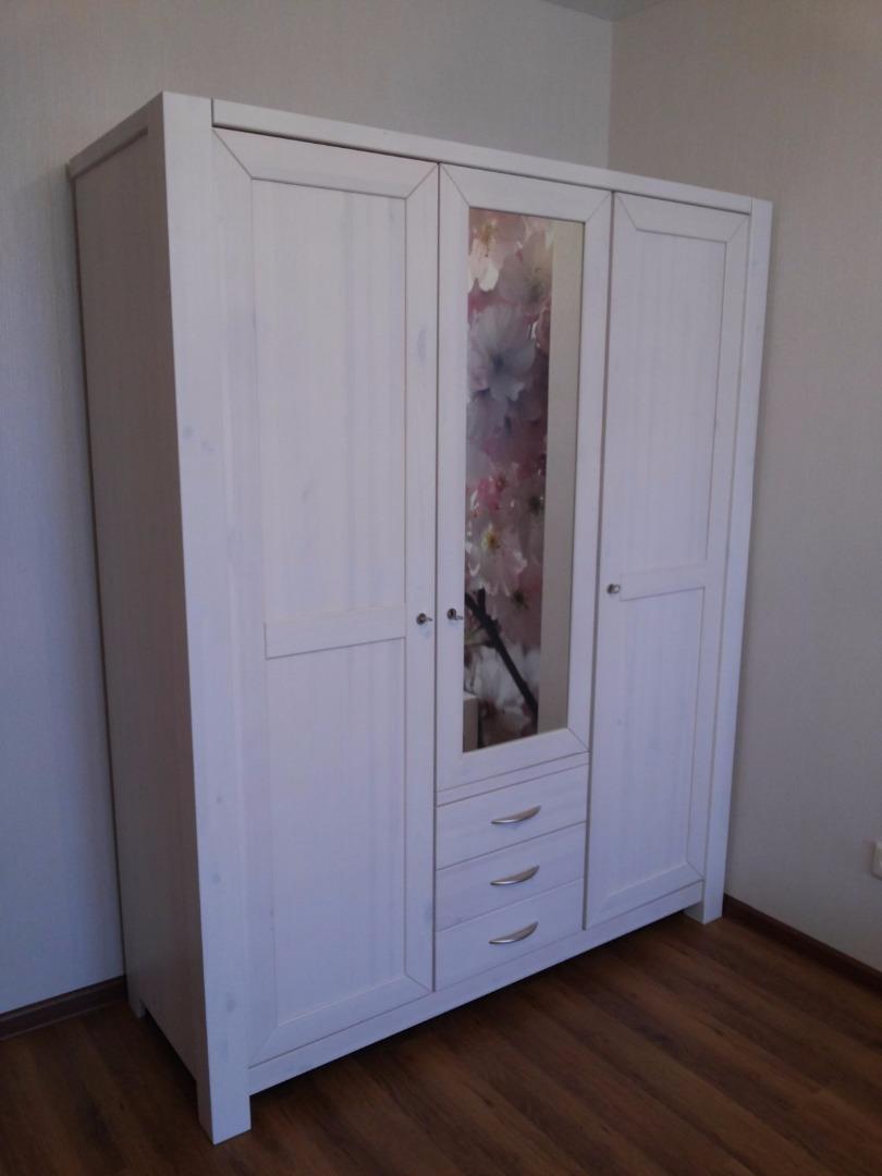 шкаф фьорд 123 Fjord мебель из массива сосны минск купить мебель